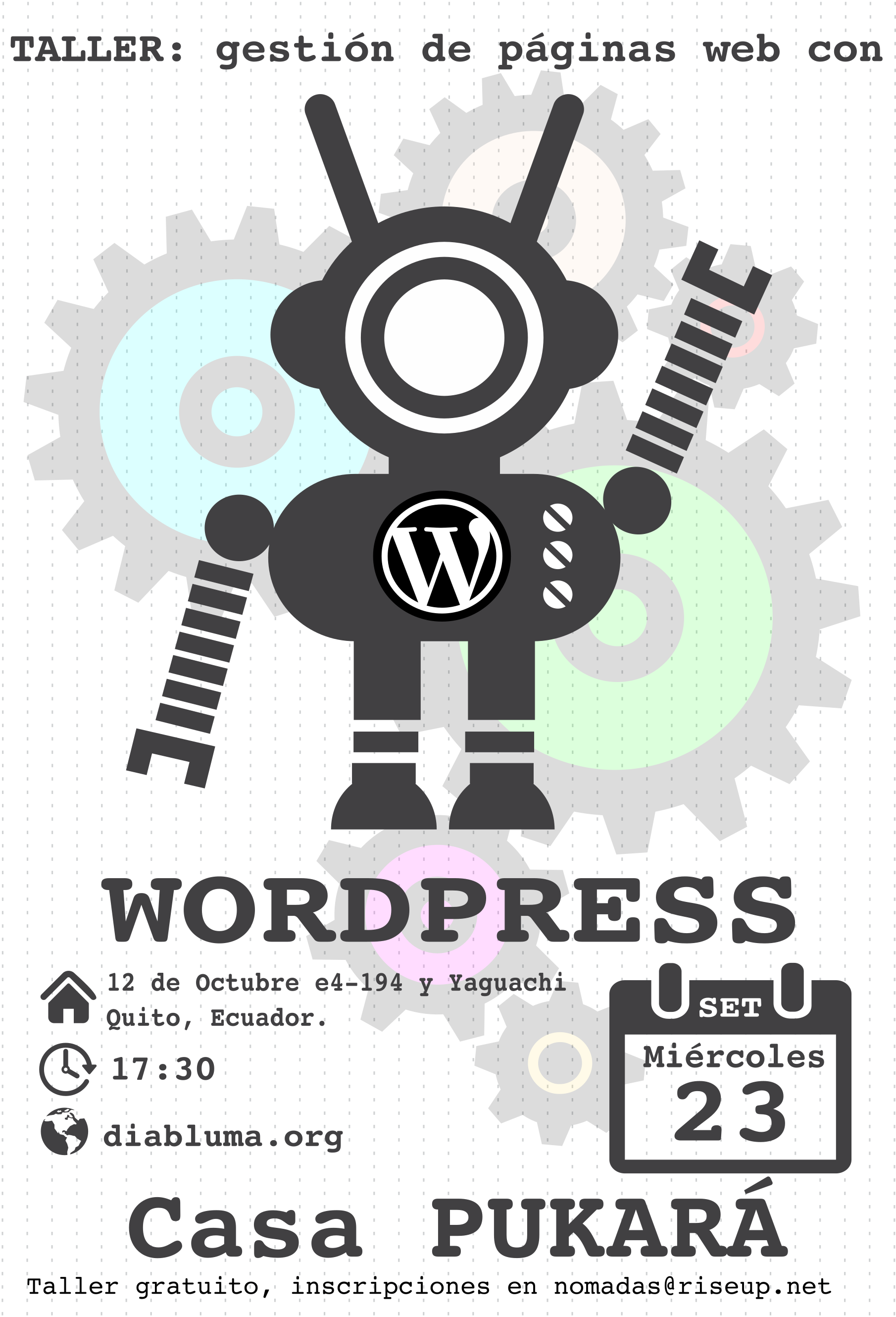 taller wordpress diabluma