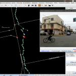 Captura de pantalla JOSM con Mapillary
